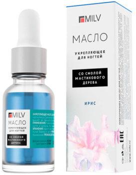 Milv, Масло для ногтей «Малина»