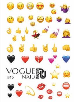 Слайдеры от компании Vogue Nails